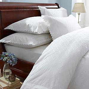 555cb6409784 Broderie Anglaise White Duvet Cover & Standard Pillowcase Set