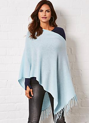 906afb89b Shop for Blue | Ponchos & Wraps | Fashion | online at Kaleidoscope