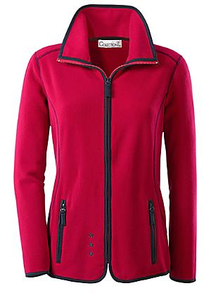 5692730f0aa Creation L Contrast Piping Fleece Jacket