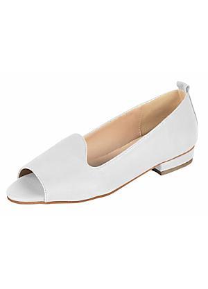 Cream | Peep Toes | Footwear