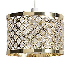Shop for lighting home accessories online at kaleidoscope horsham metallic easy fit pendant junglespirit Gallery