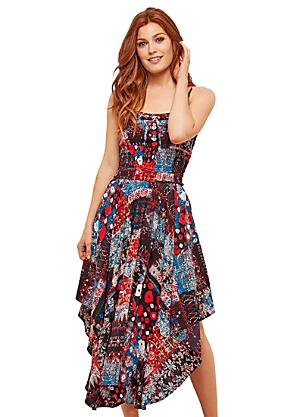 86d1f9c407c839 Joe Browns All Over Print Handkerchief Dress