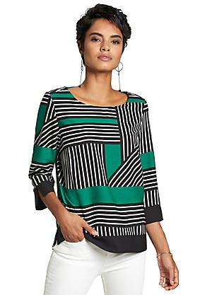 7f29dfcf597aed Striped Blouse. F13456 Striped Blouse. Creation L