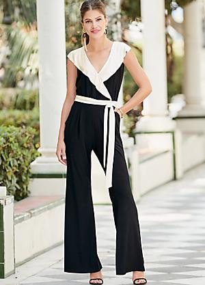 509c52fc55f Together Frill Jersey Jumpsuit