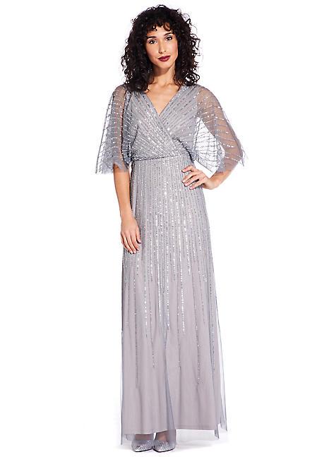 4b0975da6bf Adrianna Papell Beaded Long Dress