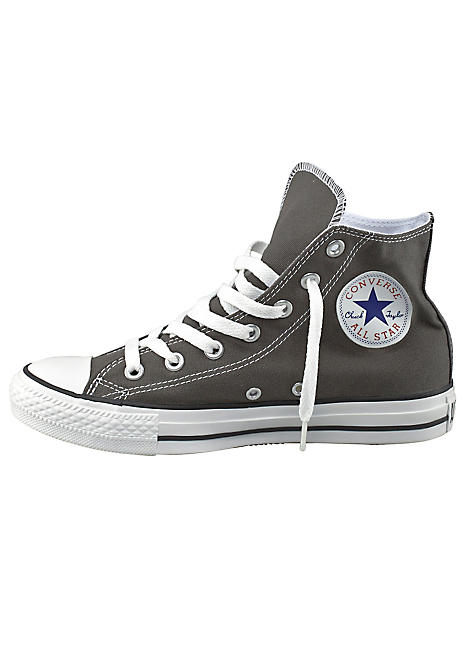 97fb578cd88 Grey 'Chuck Taylor All Star Core Hi' Sneakers by Converse | Kaleidoscope