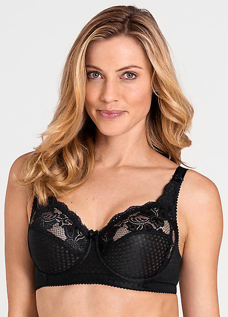 3edd68c9a645f Miss Mary of Sweden Firm DD & E Cup Underwired Bras | Kaleidoscope