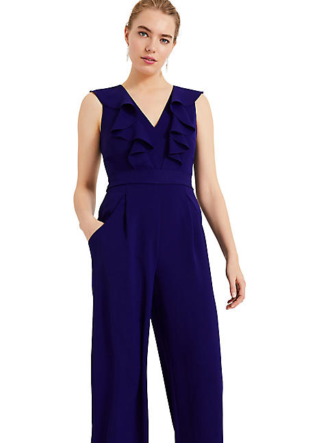 70a9770adab Phase Eight Linda Frill Jumpsuit
