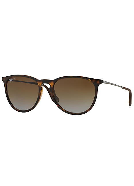 dd6c45a322 Ray-Ban® Erika Classic Havana Brown Polarised Ladies Sunglasses by Rayban