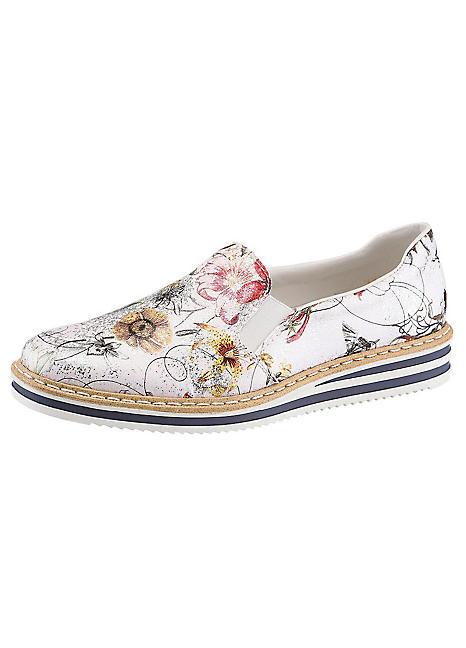 Großhandelsverkauf Kaufen Sie Authentic stabile Qualität Rieker Floral Print Loafers