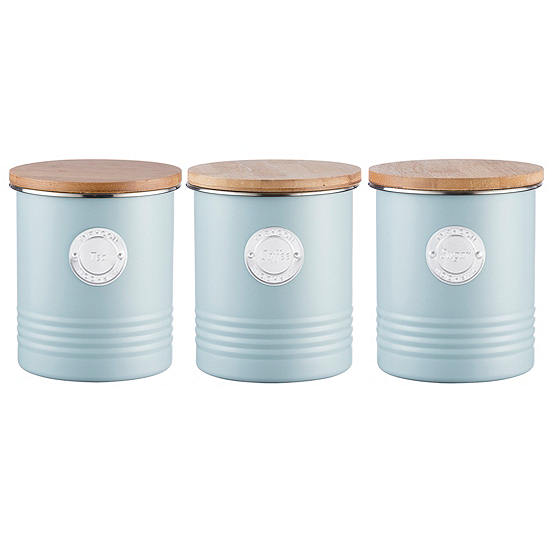 Typhoon Living Tea Coffee Sugar Canisters