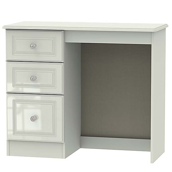 Crystalle Assembled High Gloss Bedroom Vanity Unit Dressing Table Kaleidoscope