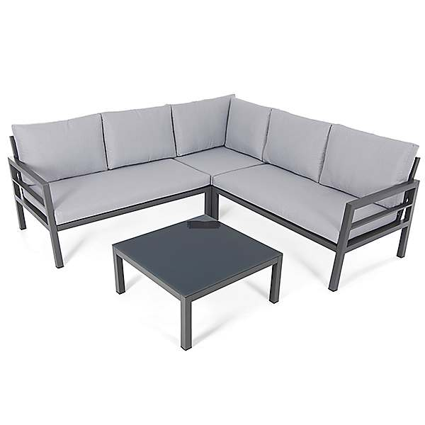 Oakley Aluminium Outdoor Corner Sofa, Sofa Set Photos