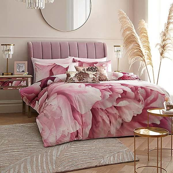 Star By Julien Macdonald Juniper Pink, Pink And Gold Star Bedding