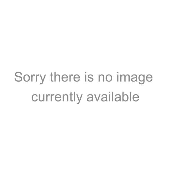 Silver Blue Metal Wall Clock With Abstract Face Kaleidoscope