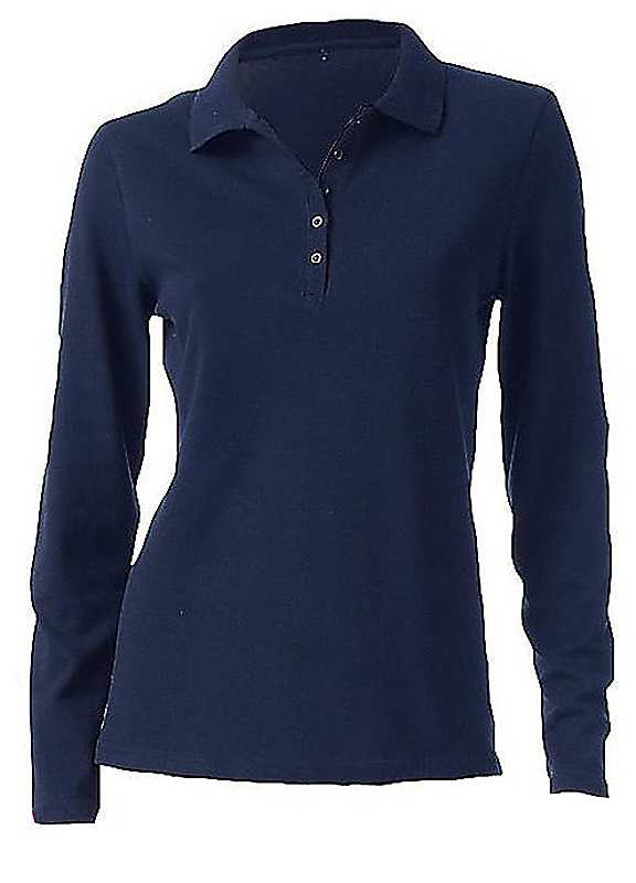 B.C. Best Connections Long Sleeve Polo Shirt.