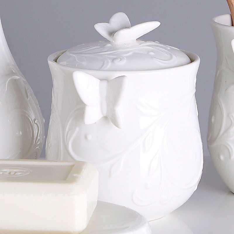 Edelle Bathroom Storage Jar